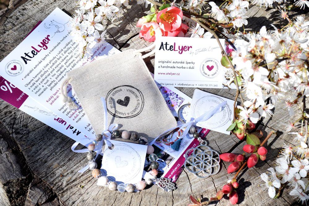 Image fotografie dárkové balení šperků AteLyer