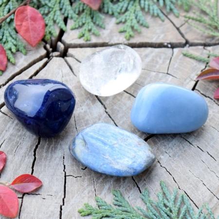 ~DUCHOVNO~ Harmonizační set minerálních kamenů pro otevření duchovního srdce