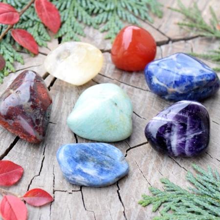 ~7 ČAKER~ Harmonizační set minerálních kamenů pro otevření 7 čaker