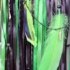 ~ZEMĚ HOJNOSTI~ Ručně vyráběný velký lapač snů s poselstvím a minerálním kamenem sodalit, 25x95 cm
